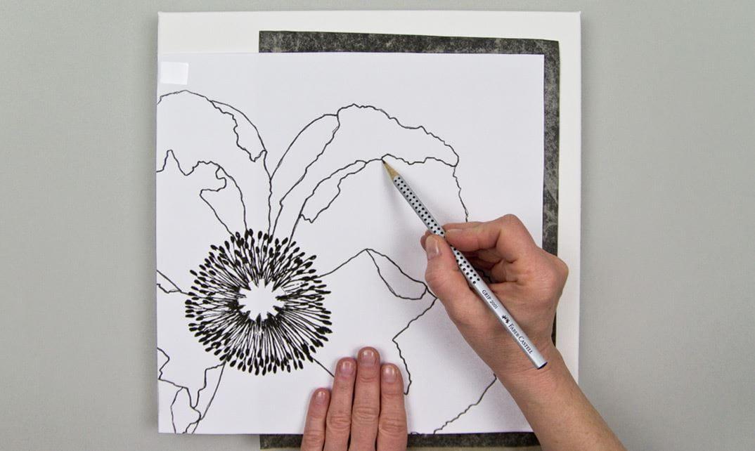Malvorlagen Fur Mohnblumen Und Orchideen By Faber Castell