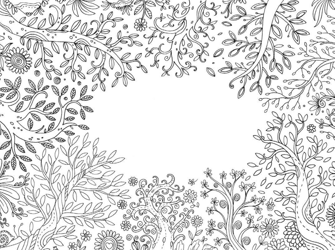 Ausmalbilder Blumen Blüten : Malvorlagen Blumenmotive