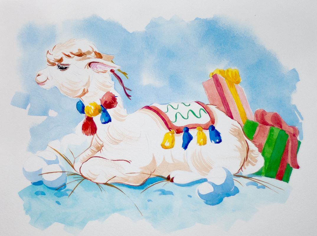 malvorlage alpaka bunt  coloring and malvorlagan