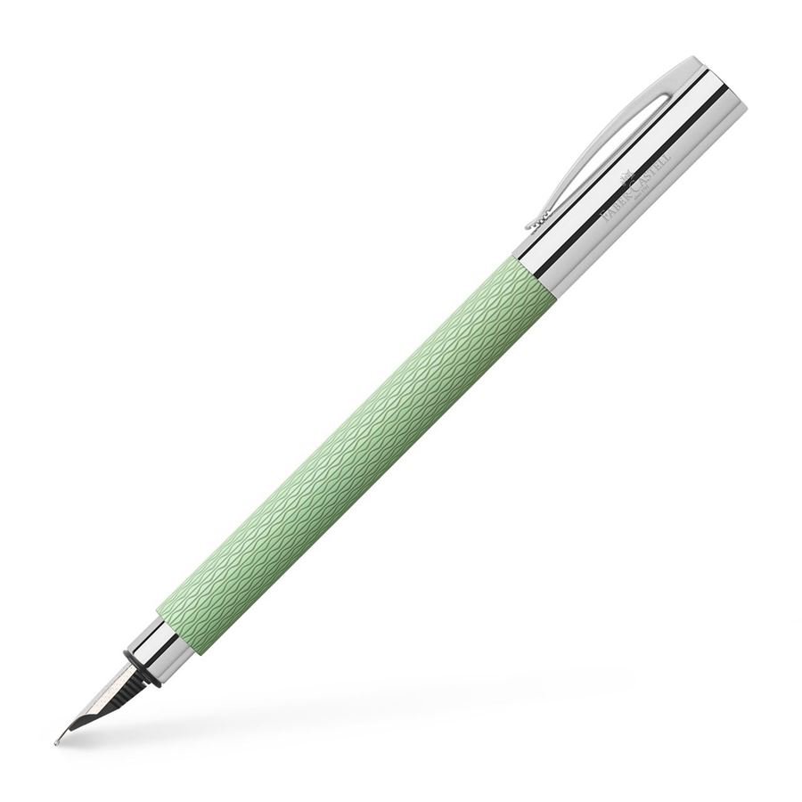 Faber-Castell - Stylo-Plume Ambition OpArt Mint Green moyenne