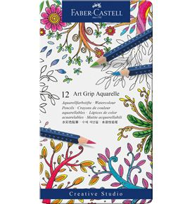 Faber-Castell - Aquarellstift Art Grip Aquarelle 12er Etui