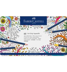 Faber-Castell - Aquarellstift Art Grip Aquarelle 60er Etui