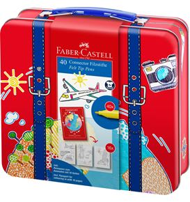 Faber-Castell - Feutres Connector valise 40x