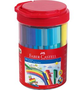 Faber-Castell - Connector Pen tube 50 feutres