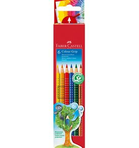 Faber-Castell - Buntstift Colour Grip 6er Kartonetui
