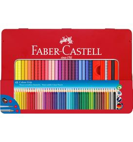 Faber-Castell - Colour Grip Buntstift, 48er Metalletui
