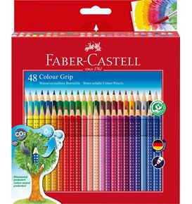 Faber-Castell - Colour Grip Buntstift, 48er Kartonetui