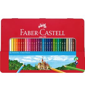 Faber-Castell - Classic Colour Buntstifte, 36er Metalletui