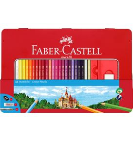 Faber-Castell - Classic Colour Buntstifte, 48er Metalletui