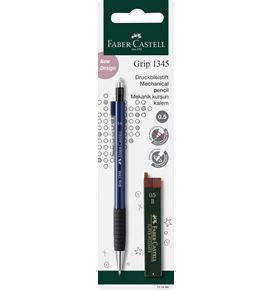 Faber-Castell - Porte-mine Grip 1345 0,5 MM + 12 MINES