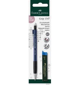 Faber-Castell - Porte-mine Grip 1347 0,7mm + 12 mines