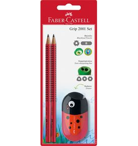 Faber-Castell - BC 1x gomme animal+ 2x Grip 2001