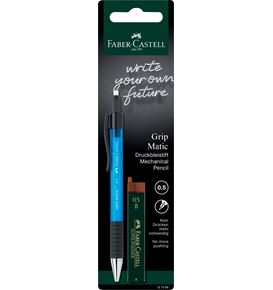 Faber-Castell - Blister Grip Matic 0.5+12 mines