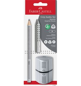 Faber-Castell - Crayons graphite Jumbo Grip set