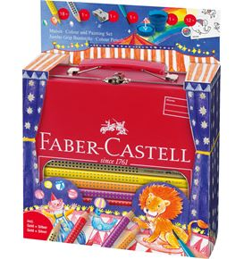 Faber-Castell - Coffret color Grip Jumbo cirque