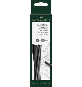 Faber-Castell - Fusain naturel Pitt 5-8mm