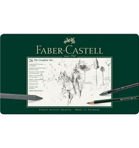 Faber-Castell - Pitt Graphite set, 26er Metalletui