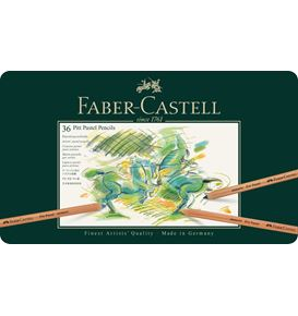 Faber-Castell - Pitt Pastellstift, 36er Metalletui