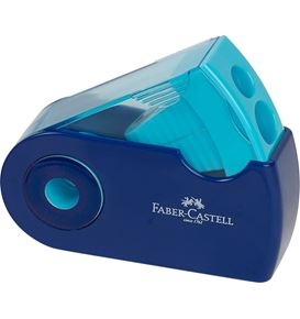 Faber-Castell - Sleeve Doppelspitzdose, 3 Trendfarben, farbig sortiert