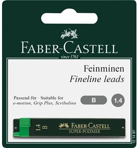 Faber-Castell - Blister 1x12 mines Super-Polymer 1,4mm